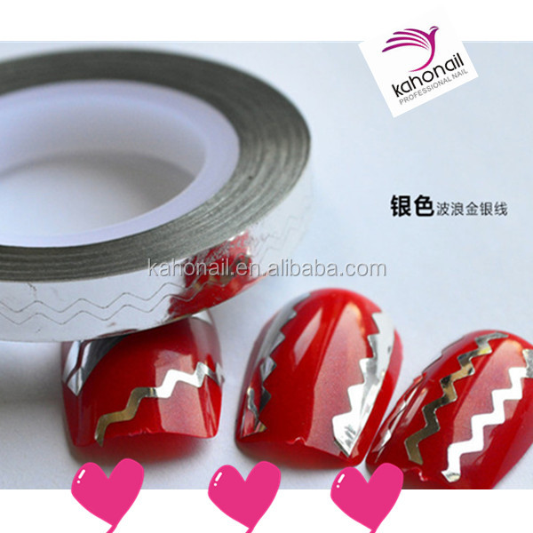 New Arrivak Wave Nail Stripping Tape In Roll For Nail Art Decoration Sticker
