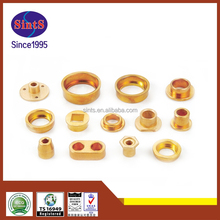 oem nice surface copper oil grooved brass bushing with metal injection molding technology