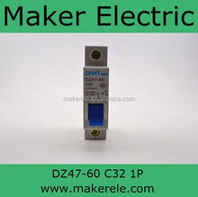 air circuit breaker DZ47-60 1P C32