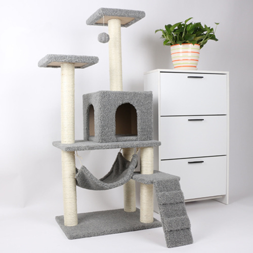 Eco-Friendly Feature and Pet Toys Type best simple cat tree cat furniture