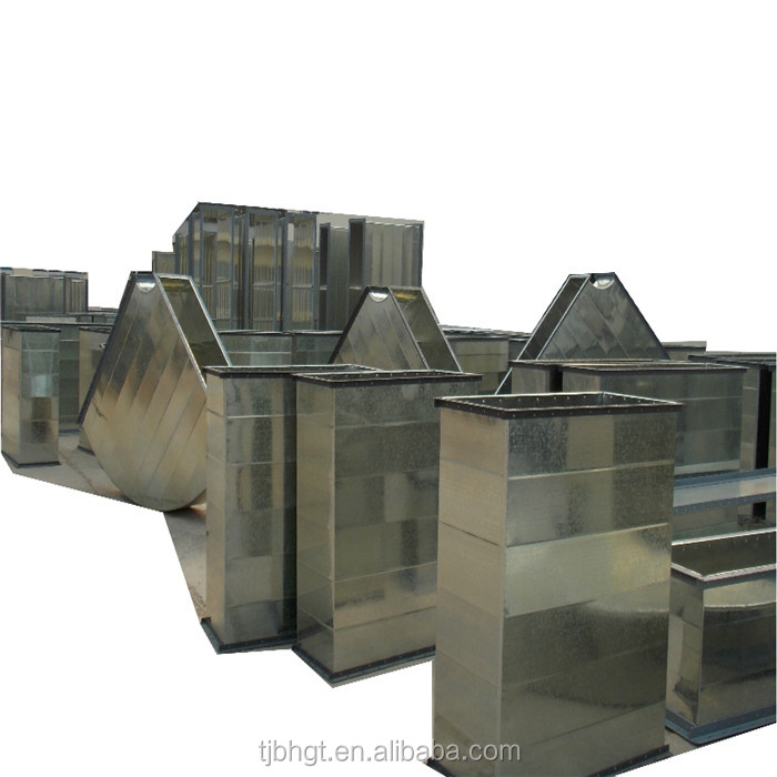 galvanized ventilation duct used for transporting gas and mine ventilation duct