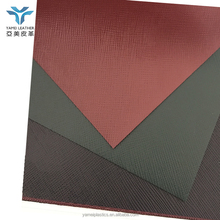 PVC imitation leather for notebooks