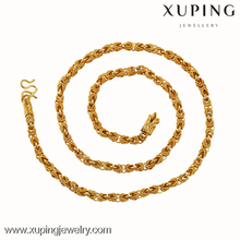 xuping fashion dubai leading wholesale 24K gold neckless for women