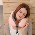 U Shape plush memory foam neck roll pillow for travel
