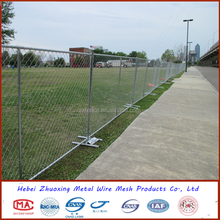 easily assembled removable fence temporary fence portable iron fence