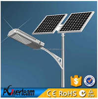 customized battery backup solar street light with factory direct