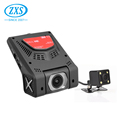 2.45 Inch Car Dashcam Front And Back Hidden Wifi 1080P Car Dvr Dual Lens Manufacturer