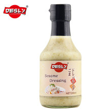 Japanese sesame dressing sauce for salad 200ml