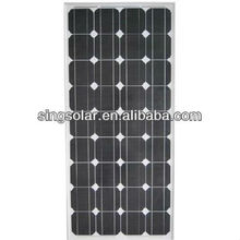 high efficiency 100w solar panel with frame for hot sale 100watt solar panel