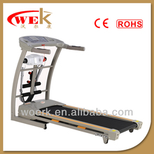 Hot selling 2.5hp dc motor soft cushion motion fitness treadmill