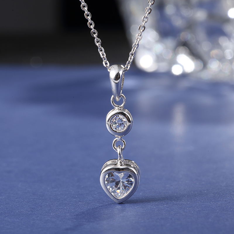 New design crystal pendant jewelry set