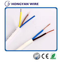 RVV Flexible Cable with PVC Insulated 0.5mm2,0.75mm2,factory price