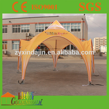 Portable aluminium frame waterproof family tent for camping