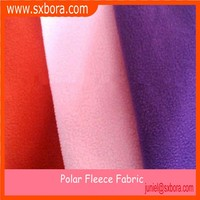 100%polyester anti pilling fabric polar fleece