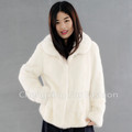 CX-G-A-96 2016 European Fashion Women Real Mink Fur Jacket