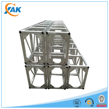 outdoor performance aluminum stage truss, event stage truss system for sale