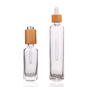 80ml round glass bottle for essential oil with dropper