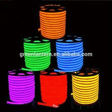high quality colourful Manufacturer of DMX RGB Color Changing 24V LED Neon Flex Rope Light