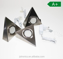 Triangle 3*2W kitchen LED warm white under cabinet light DC12V