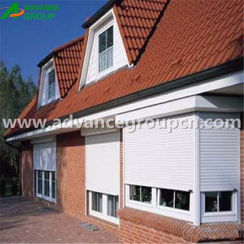Automatic auto operate outdoor roller shutter