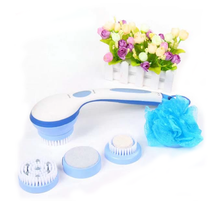 NEW SPIN SPA as seen on TV Spinning Spa SHOWER BRUSH - 5 Attachments