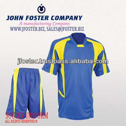 FOOTBALL UNIFORM 2014 club soccer uniforms with high quality ,France club soccer kits , Club soccer jersey