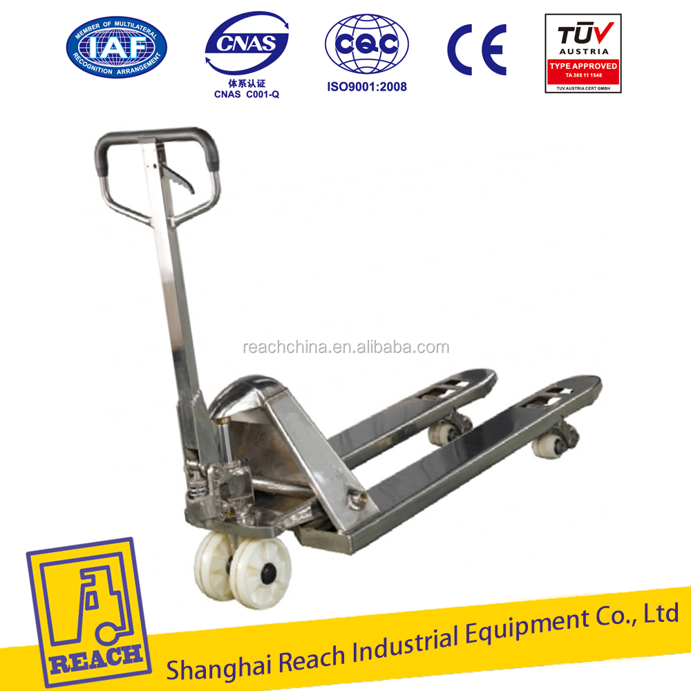 Factory supply good price manual forklift 2 ton hand pallet truck