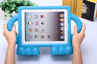 EVA soft case for iPad, child proof cute stand case