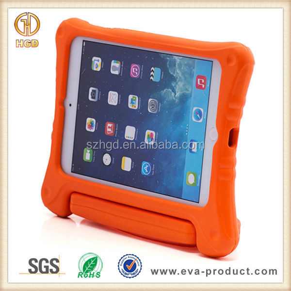 For iPad Mini Plastic Covers Shockproof With Stand Various Colors