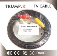 RCA and Coaxial Cable for TV CCTV Audio & Video Cables