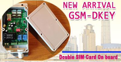 new designed dual sim card garage door opener /gsm type door opener