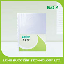 transparent PP sheet protector in very low price