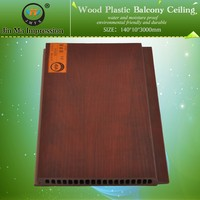 Eco-Environmental Friendly Wood Plastic WPC Decorative Wallboard Panels