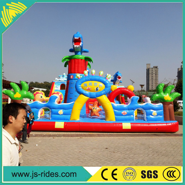 Kids Giant Inflatable Toys Inflatable Fun City For Playground