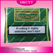 Rolling smoking bag/Hand rolling tobacco bag/Customized design logo envelope tobacco bag
