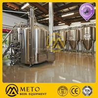 automatic 2000 BPH Glass bottle beer manufacturing factory