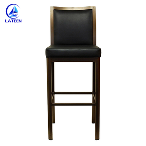 Wholesale price imitated wood chair bar high stool furniture for sale