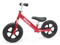 Alloy Kids Running Bike Children Light Bicycle Walking Balance Bike