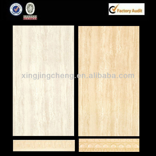2016 construction materials wood up and down wall tile set match border tiles skirting wall tile