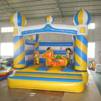 Inflatable Bouncer blower , LZ-A675 Inflatable Bouncer jumping castle