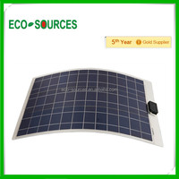 EU stock 100w flexible amorphous solar panel for boat RV free shipping