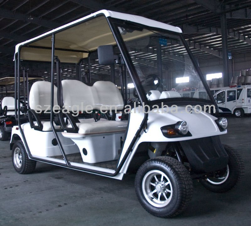 4 Seater EEC certified Golf cart,STREET-LEGAL EEC-APPROVED ELECTRIC GOLF CAR,ELECTRIC VEHICLE,EG2048KR,48V/5.3KW Sepex