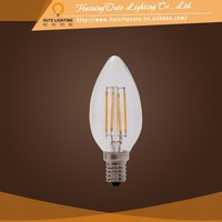 China good supplier edison led bulb C35 4w led filament light for household lighting