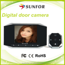 3.5 inch high definition battery operated motion detection door viewer