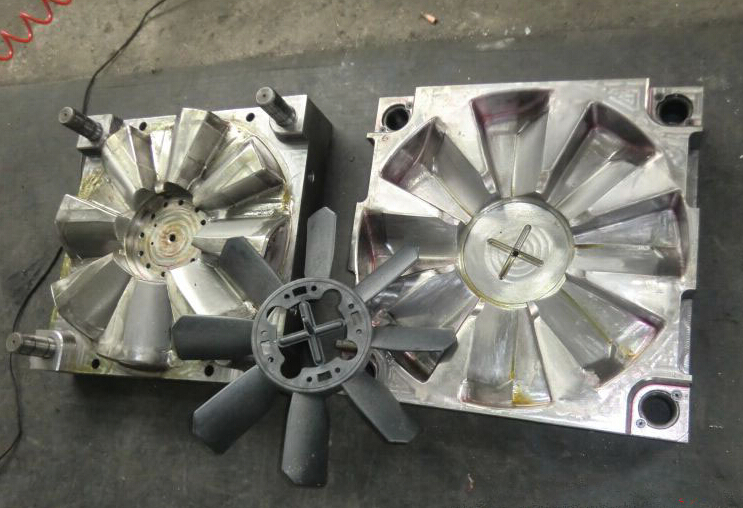Air Conditioner Fan Blades Tooling Mold Injection Maker