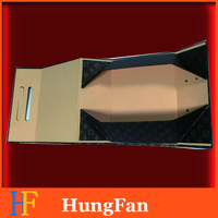 Printing Folding Rigid Paper Gift Cardboard Foldable Collapsible Packing Box