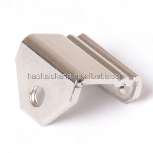 Air Conditioner PTC Heat Sink Strip 1.5mm stainless steel M3 U shape bracket