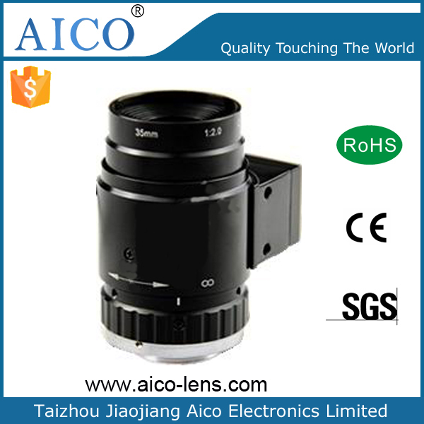 "Intelligent Transport System 5MP F2.0 C Mount DC auto Iris 35mm 1"" ITS lens"