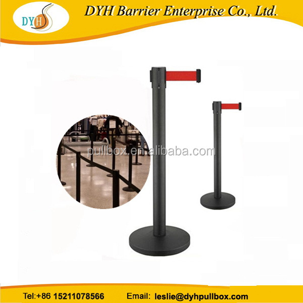 Quality assured exported high quality retractable q up barrier