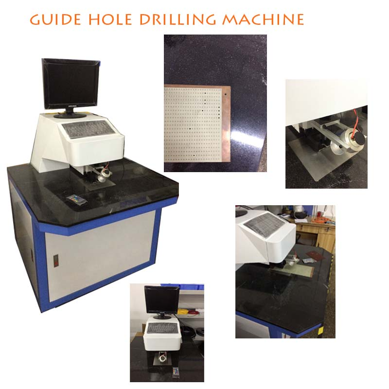 Manual Drilling Machines PCB Drilling Guide Hole Drilling Machine and Equipment